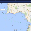MarineTraffic-south Lisbon