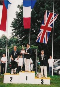 Mark Jefferies - Bronze Medal Winner - Team GB - BAeA - Display
