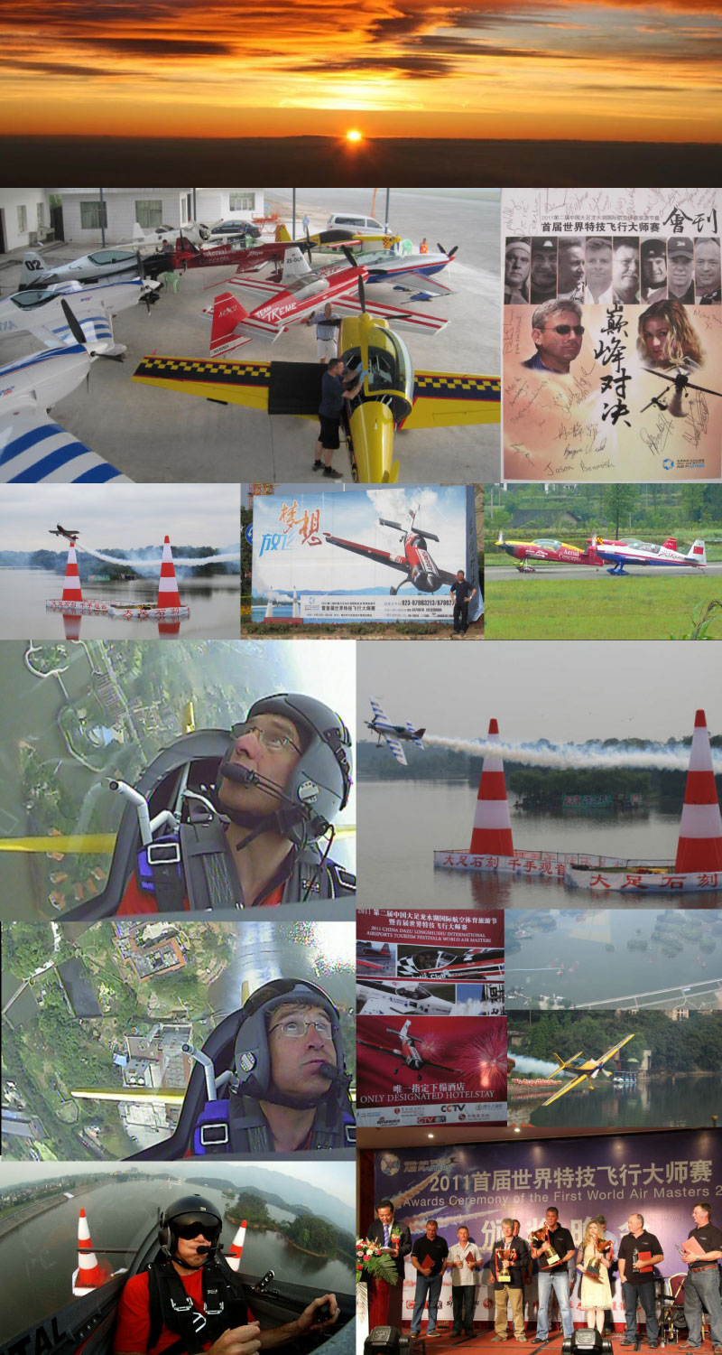 World air masters pilots and Air shows in China