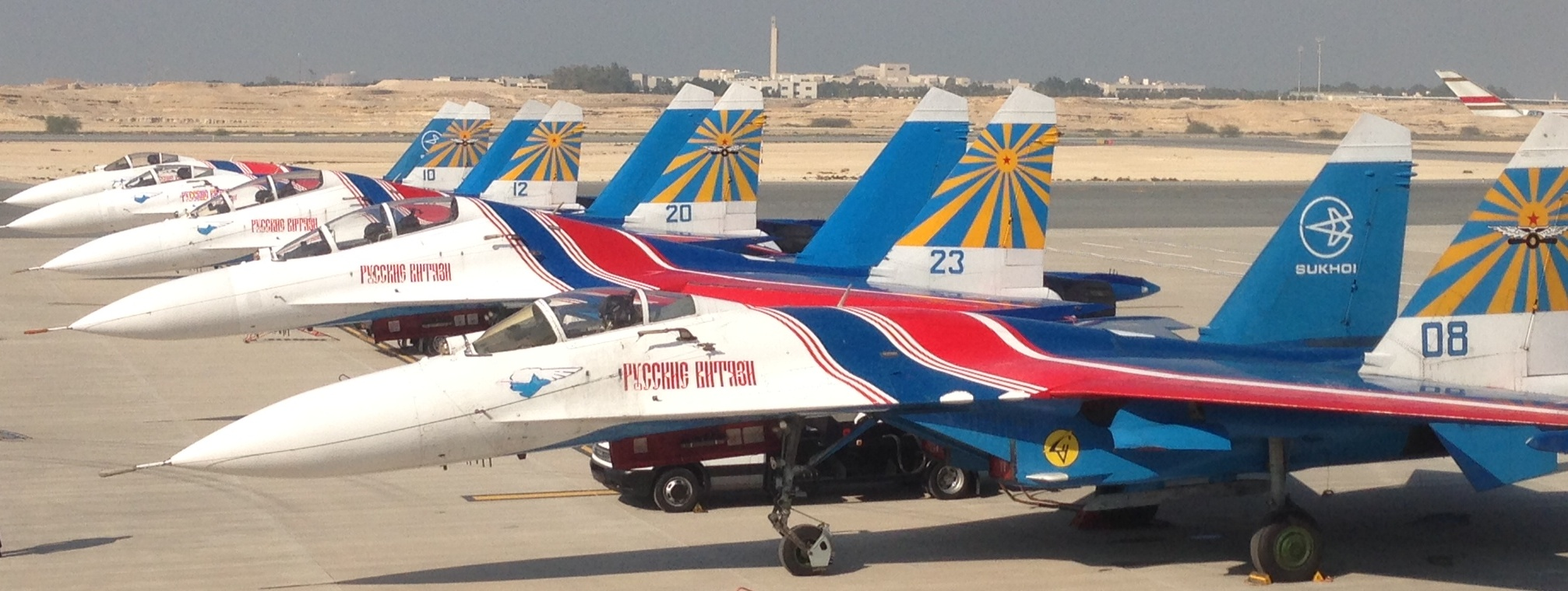 Russian Knights Show 104