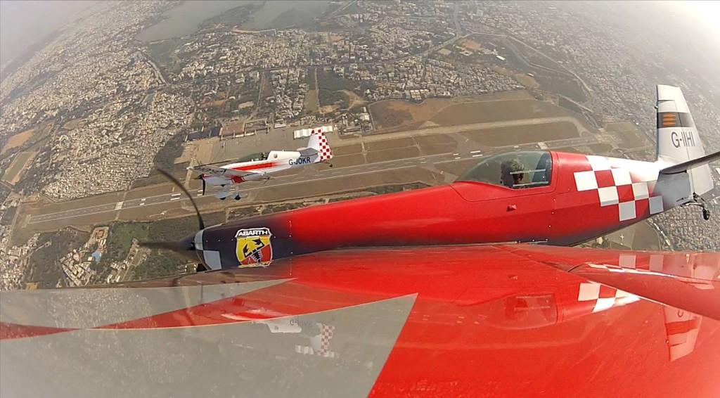 Mark Jefferies & Tom Cassells at India Aviation air display - Hyderabad