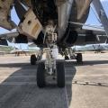 Nose leg F18D Hornet